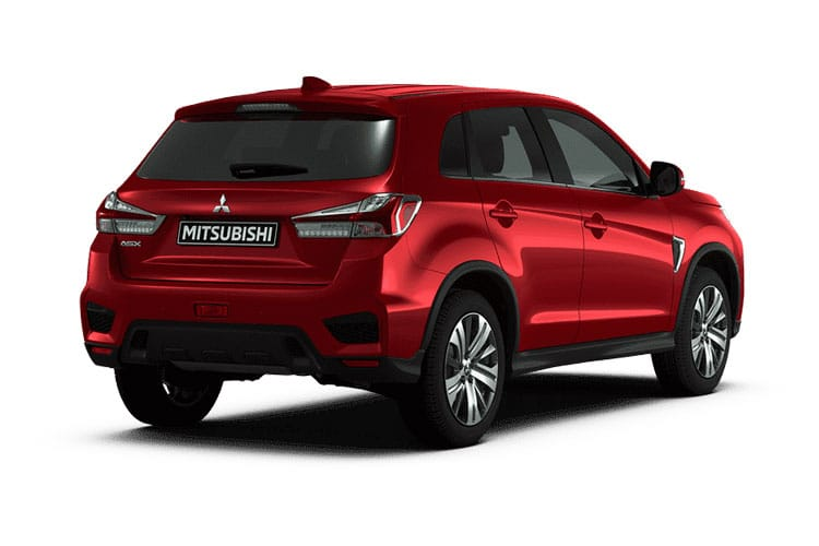 Mitsubishi ASX SUV 2wd 2.0 MIVEC 150PS Dynamic 5Dr Manual [Start Stop] back view