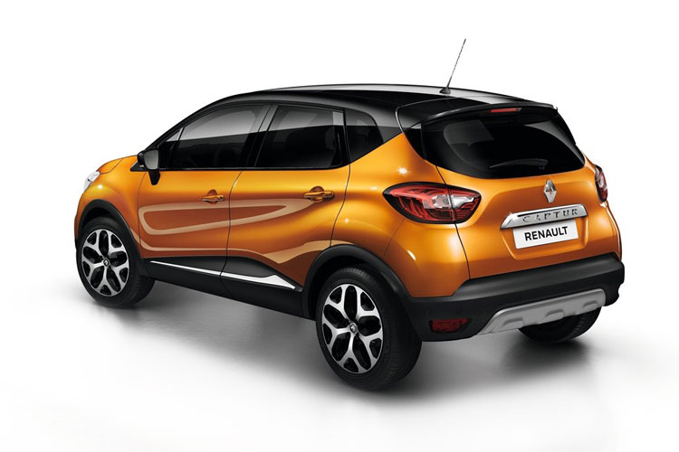 Renault Captur SUV 1.0 TCe 100PS Iconic 5Dr Manual [Start Stop] back view