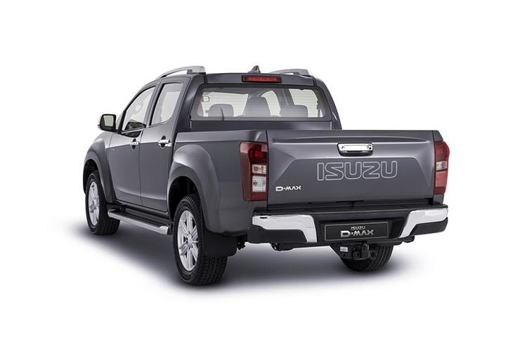 Isuzu D-MAX Pick Up Double Cab 4wd 1.9 TD 4WD 164PS Arctic Trucks AT35 Pickup Double Cab Auto back view