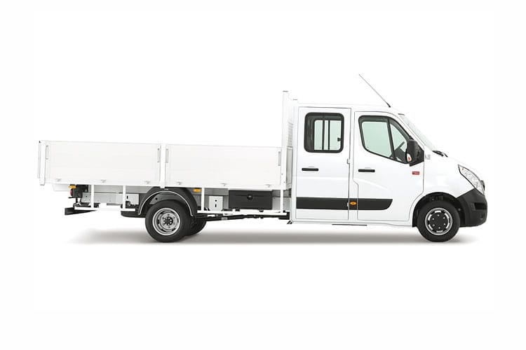 Renault Master LWB 35 FWD 2.3 dCi FWD 135PS Business Tipper Manual [Aluminium Tool Box] back view