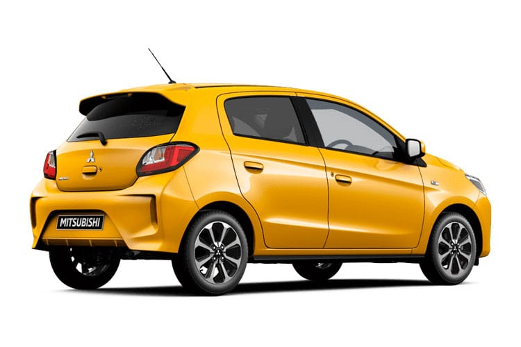 Mitsubishi Mirage Hatch 5Dr 1.2  79PS First Edition 5Dr Manual [Start Stop] back view