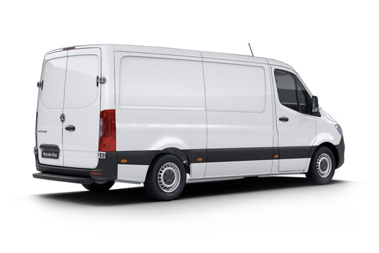 Mercedes-Benz Sprinter 319 L4 3.5t 3.0 CDi V6 RWD 190PS  Van Extra High Roof Manual [Start Stop] back view