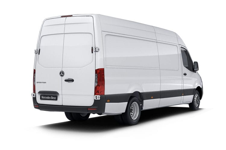 Mercedes-Benz Sprinter HGV 516 L3 5.0t 2.1 CDi DRW 163PS Progressive Van High Roof G-Tronic+ [Start Stop] back view
