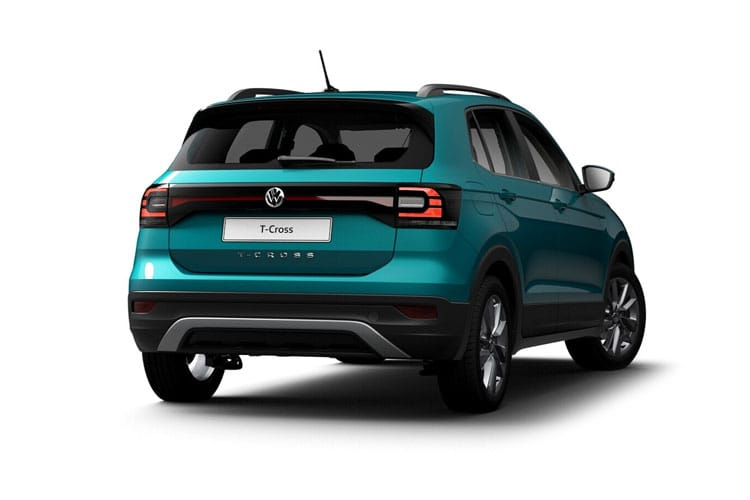 Volkswagen T-Cross SUV 1.0 TSI 110PS SE 5Dr Manual [Start Stop] back view
