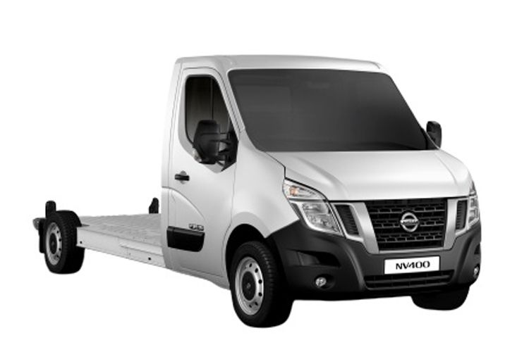 Nissan NV400 L2 35 FWD 2.3 dCi FWD 130PS SE Chassis Cab Manual front view