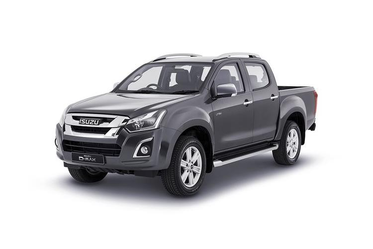 Isuzu D-MAX Pick Up Double Cab 4wd 1.9 TD 4WD 164PS Arctic Trucks AT35 Pickup Double Cab Auto front view