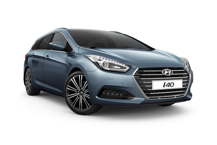 Hyundai i40 Tourer 1.7 CRDi Blue Drive 115PS SE Nav 5Dr Manual [Start Stop] front view
