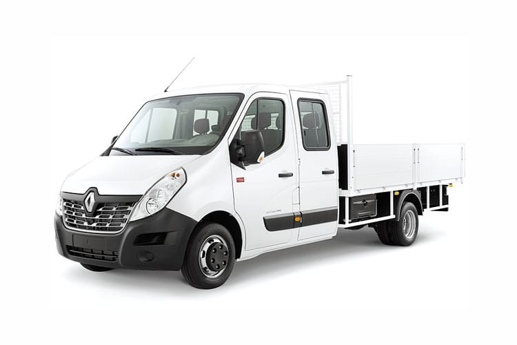 Renault Master LWB 35 FWD 2.3 dCi FWD 135PS Business Tipper Manual [Aluminium Tool Box] front view