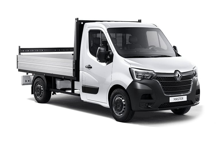 Renault Master MWB 35TW RWD 2.3 dCi ENERGY DRW 145PS Business Dropside Manual [Start Stop] front view
