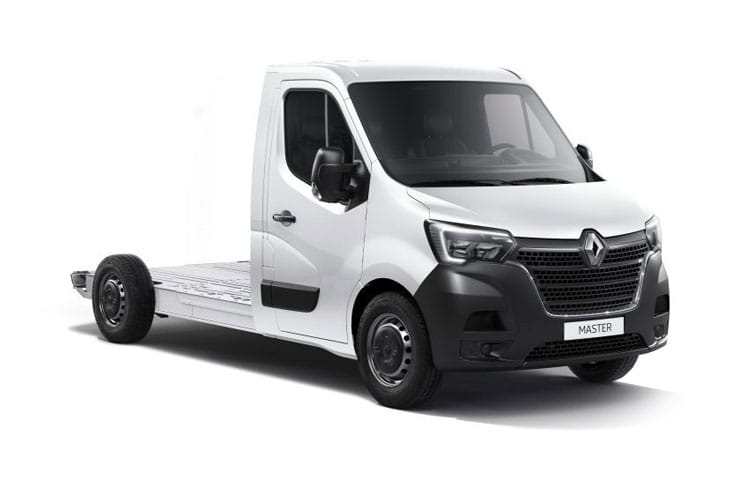 Renault Master LWB 35 FWD 2.3 dCi ENERGY FWD 150PS Business Platform Cab Manual [Start Stop] front view