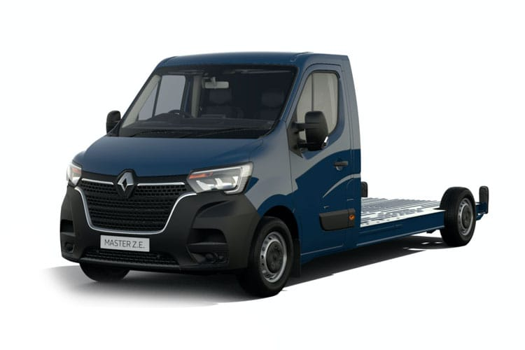 Renault Master LWB 35 FWD 2.3 dCi FWD 135PS Business Chassis Cab Manual front view