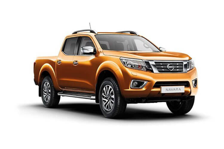 Nissan Navara PickUp DoubleCab 4wdS 2.3 dCi 4WS 190PS Off-Roader AT32 Pickup Double Cab Manual [Start Stop] front view