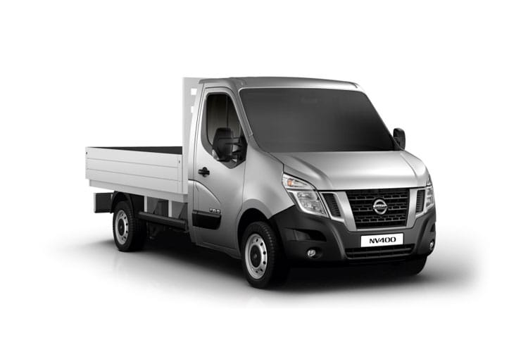 Nissan NV400 L3 35 FWD 2.3 dCi FWD 135PS Tekna Dropside Manual front view