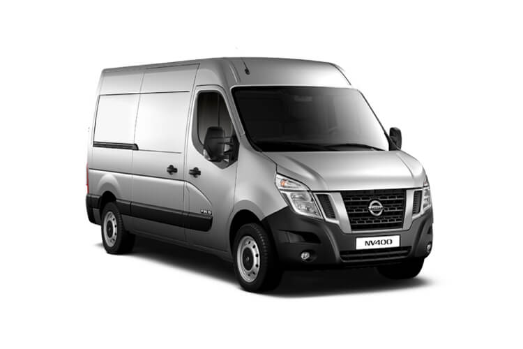 Nissan NV400 L2 35 FWD 2.3 dCi FWD 150PS Acenta Van High Roof Manual [Start Stop] front view