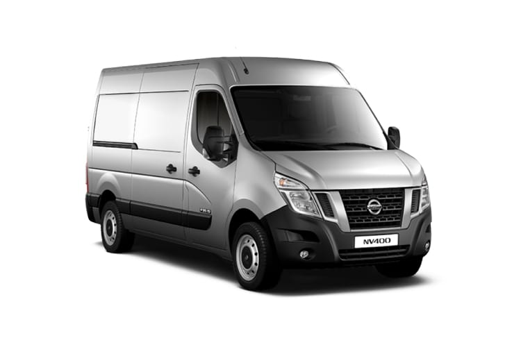 Nissan NV400 HGV L4 45TW RWD 2.3 dCi DRW 165PS SE Van High Roof Manual [Start Stop] front view