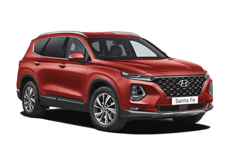 Hyundai Santa Fe SUV 4WD 1.6 T-GDi PiH 13.8kWh 265PS Ultimate 5Dr Auto [Start Stop] [7 Seat] front view