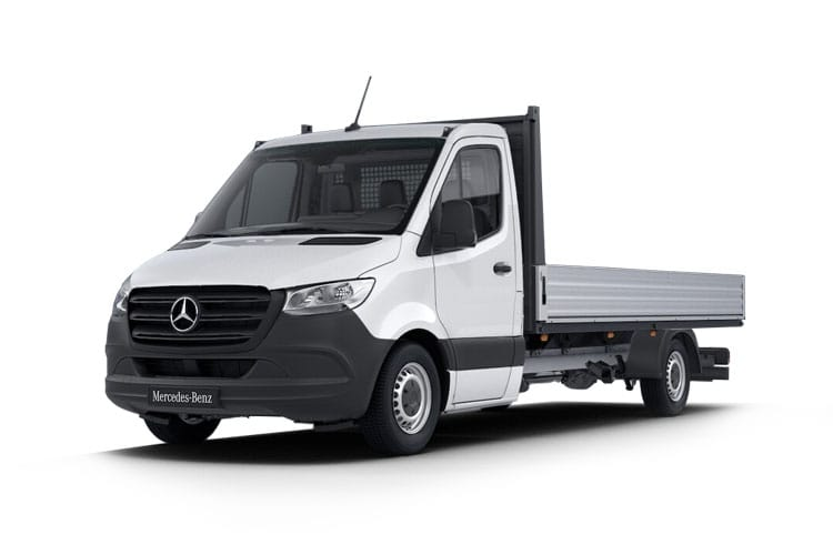 Mercedes-Benz Sprinter HGV 519 L2 5.0t 3.0 CDi V6 DRW 190PS  Dropside G-Tronic+ [Start Stop] front view