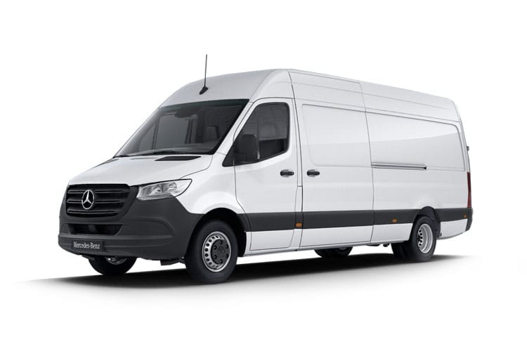 Mercedes-Benz Sprinter HGV 514 L4 5.0t 2.1 CDi DRW 143PS  Van Extra High Roof Manual [Start Stop] front view