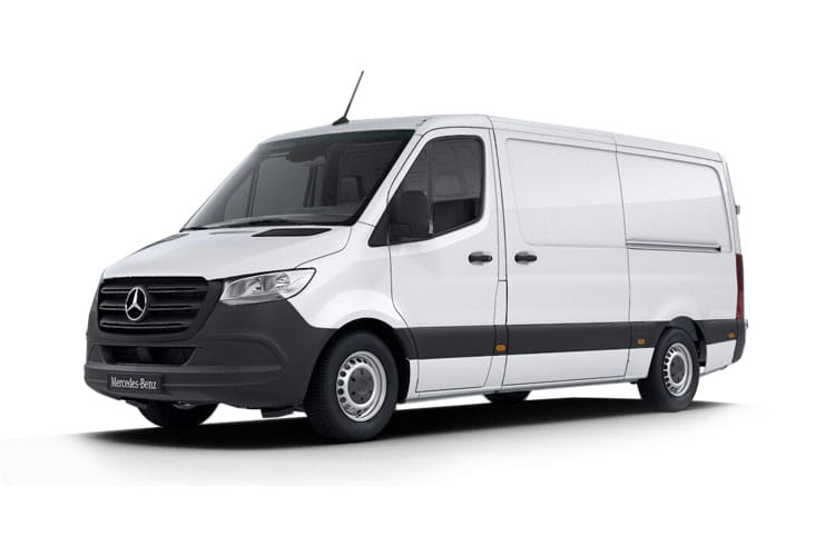 Mercedes-Benz Sprinter 319 L4 3.5t 3.0 CDi V6 RWD 190PS  Van Extra High Roof Manual [Start Stop] front view