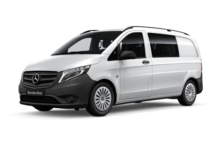 Mercedes-Benz Vito 114 L3 RWD 2.1 CDi RWD 136PS Pure Crew Van Manual [Start Stop] front view