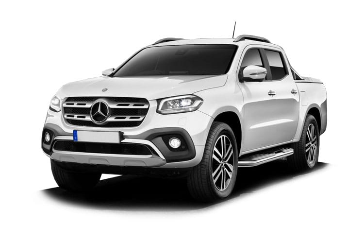 Mercedes-Benz X-Class X220 PickUp DoubleCab 4MATIC 2.3 CDi 4WS 163PS Progressive Pickup Double Cab Manual [Start Stop] front view