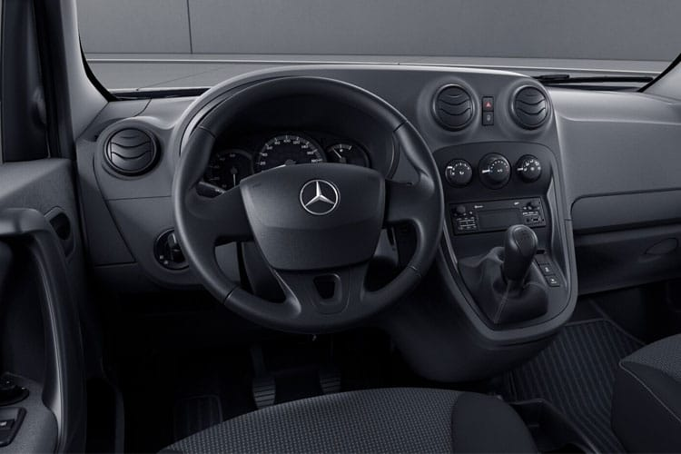 Mercedes-Benz Citan 111 L3 1.5 CDi FWD 114PS Pure Van Manual inside view