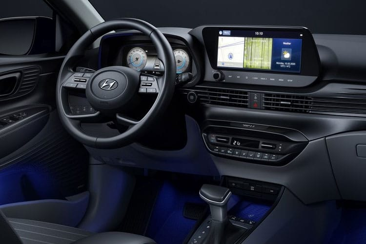 Hyundai i20 Hatch 5Dr 1.0 T-GDi 100PS SE 5Dr DCT [Start Stop] inside view