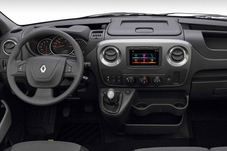 Renault Master LWB 35 FWD 2.3 dCi FWD 135PS Business Tipper Manual [Aluminium Tool Box] inside view