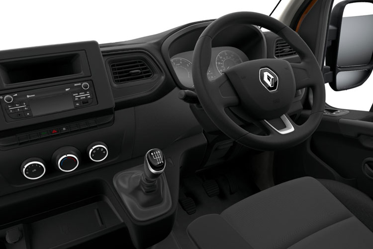 Renault Master LWBL 35TW 4X4 2.3 dCi ENERGY DR4 145PS Business Van High Roof Manual [Start Stop] inside view