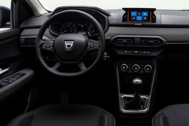 Dacia Sandero Hatch 5Dr 0.9 TCe 90PS Comfort 5Dr Manual [Start Stop] inside view