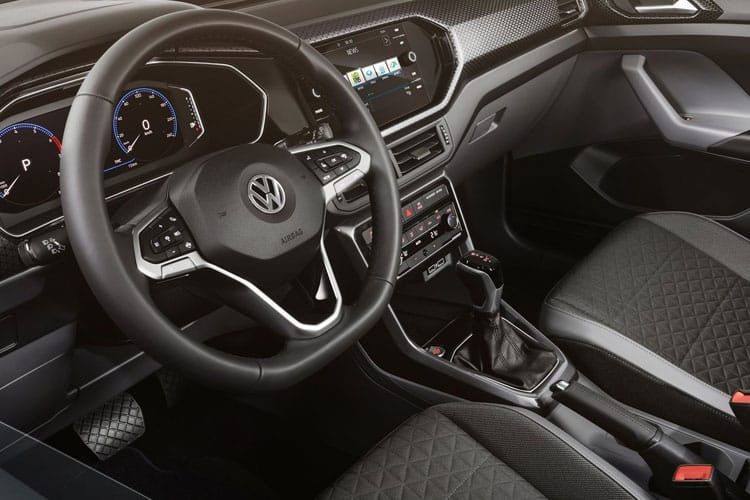 Volkswagen T-Cross SUV 1.0 TSI 110PS SE 5Dr Manual [Start Stop] inside view